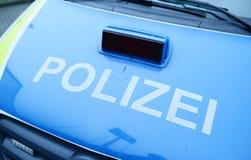 Polizia tedesca Immagine Stock Libera da Diritti