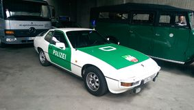 Polizia tedesca pensionata Fotografia Stock