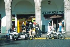 Polizie stradali, Arequipa, Perù Fotografie Stock Libere da Diritti