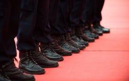 Poliziotti Fotografia Stock Libera da Diritti