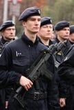 Poliziotti Fotografia Stock