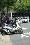 Poliziotti di New York Fotografie Stock Libere da Diritti
