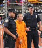 Poliziotti di NYPD Fotografie Stock