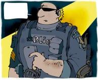 Poliziotto illustrazione vettoriale