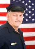 Poliziotto americano Fotografie Stock