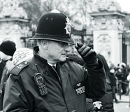 Poliziotto britannico Fotografia Stock Libera da Diritti