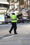 Poliziotto di traffico immagine stock libera da diritti