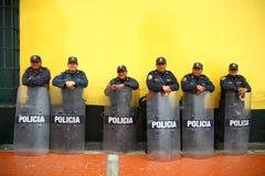 Poliziotto standby immagine stock
