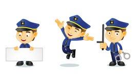 Polizist 1 stock abbildung