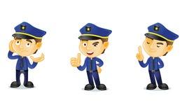 Polizist 2 vektor abbildung