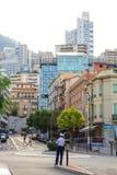 Polizist in Monte Carlo Lizenzfreie Stockfotografie