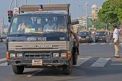 Polizisten in Mumbai Stockfotografie