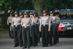 Polizistin Lizenzfreie Stockfotografie