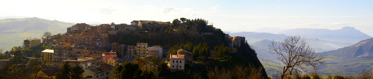 Polizzi generosa panorama Royalty Free Stock Photo