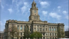 Polk County Gericht Lizenzfreie Stockfotos