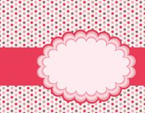 Polka background Royalty Free Stock Photos