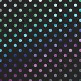 Polka blu porpora verde Dot Pattern fotografia stock