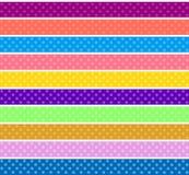 Polka dot background Stock Photos