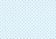 Polka dot background. Simple polka dot pattern of blue and blue dots background Stock Photo