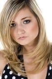 Polka dot Blonde Stock Photo