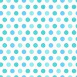 Polka dot blue Stock Photos