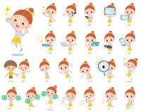 Free Polka Dot Clothes Ribbon Girl 2 Royalty Free Stock Images - 64754269