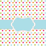 Polka dot design Royalty Free Stock Photo