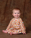 Polka Dot Dress royalty free stock images
