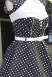Polka dot dress Royalty Free Stock Image