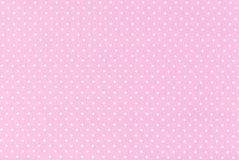 Polka dot fabric. Background and texture stock photos