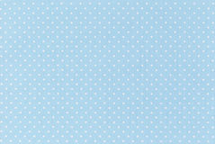 Polka dot. Fabric background and texture Stock Image