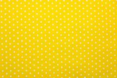 Polka dot fabric. Close up of polka dot fabric Stock Photos
