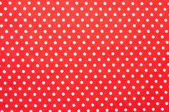 Polka dot fabric Royalty Free Stock Photos
