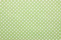 Polka dot fabric. Close up of polka dot fabric Stock Images