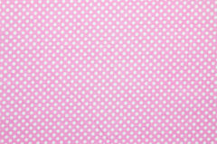 Polka dot fabric Royalty Free Stock Image