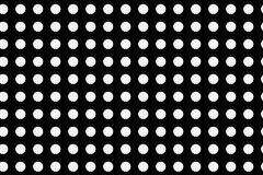 Polka dot fabric pattern royalty free illustration
