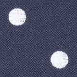 Polka dot fabric texture Royalty Free Stock Photos