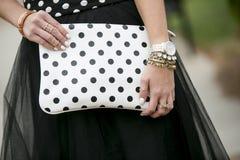 Polka dot fashion Royalty Free Stock Photos