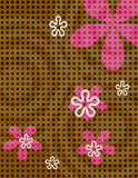 Polka Dot Flowers Royalty Free Stock Photos