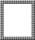 Polka-dot frame Royalty Free Stock Photo