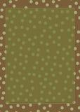 Polka dot frame Stock Images
