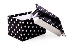 Polka Dot Gift Box Royalty Free Stock Images