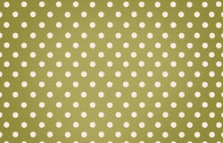 Polka dot with green pastel color background Royalty Free Stock Image
