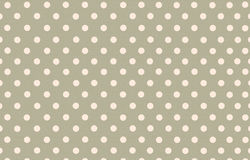 Polka dot with grey pastel color background Stock Photos