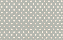 Polka dot with grey pastel color background Royalty Free Stock Image