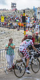 Polka Dot Jersey on Mont Ventoux Stock Images