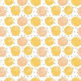 Polka dot modern pattern Stock Image