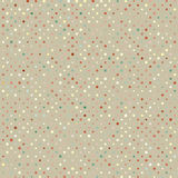 Polka Dot Old Scratch Pattern. Retro Styled Vector Royalty Free Stock Images
