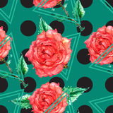 Polka dot ornament Royalty Free Stock Photography