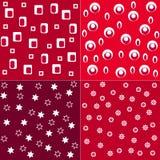 Polka dot pattern. Seamless patterns, polka dot set, fabric set and illustration Royalty Free Stock Photography